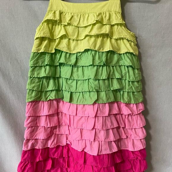 Gymboree size 8 girls Ruffle Dress